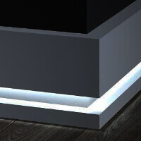 Listwy przypodłogowe LED montaż